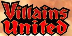 Villains United Logo