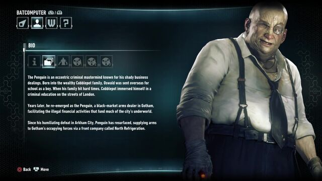 File:Batman Arkham Knight Character Bios Penguin.jpg
