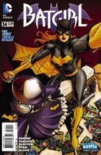 Batgirl Vol 4-34 Cover-2