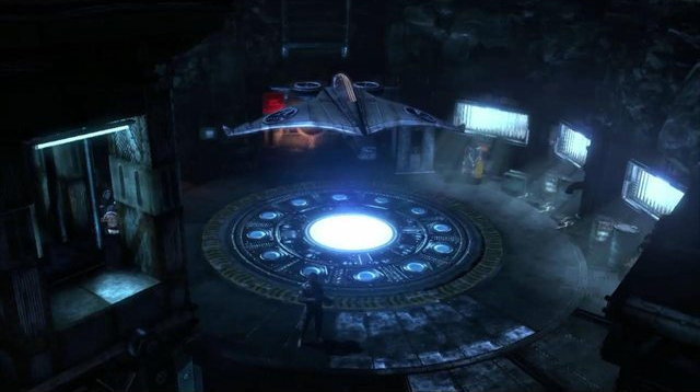 Arkham City Batcave Batman Arkham City Batcave