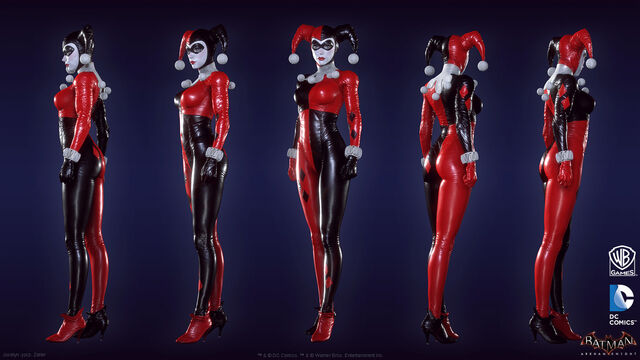 File:Harley Quinn Batman Arkham Knight character model.jpg