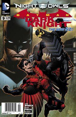 Batman The Dark Knight Vol 2-9 Cover-1