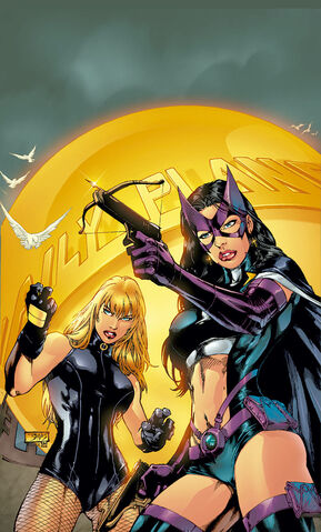 File:Black Canary and Huntress.jpg