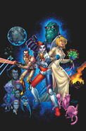 Harley Quinn Power Girl Vol 1-6 Cover-1 Teaser