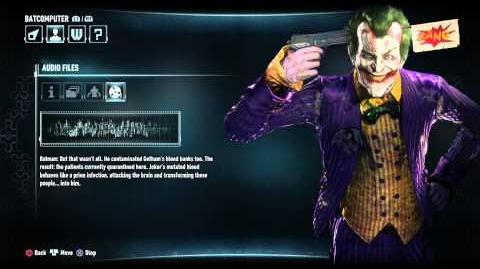 Batman Arkham Knight The Joker Audio Log