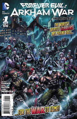 Forever Evil - Arkham War Vol 1-1 Cover-1