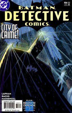 Detective Comics Vol 1-806 Cover-1