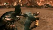 Batman vs the head of the demon 2