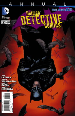 Detective Comics Annual Vol 2-2 Cover-1