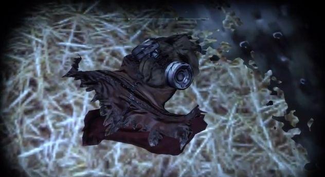Crane s mask Scarecrow Mask Arkham City