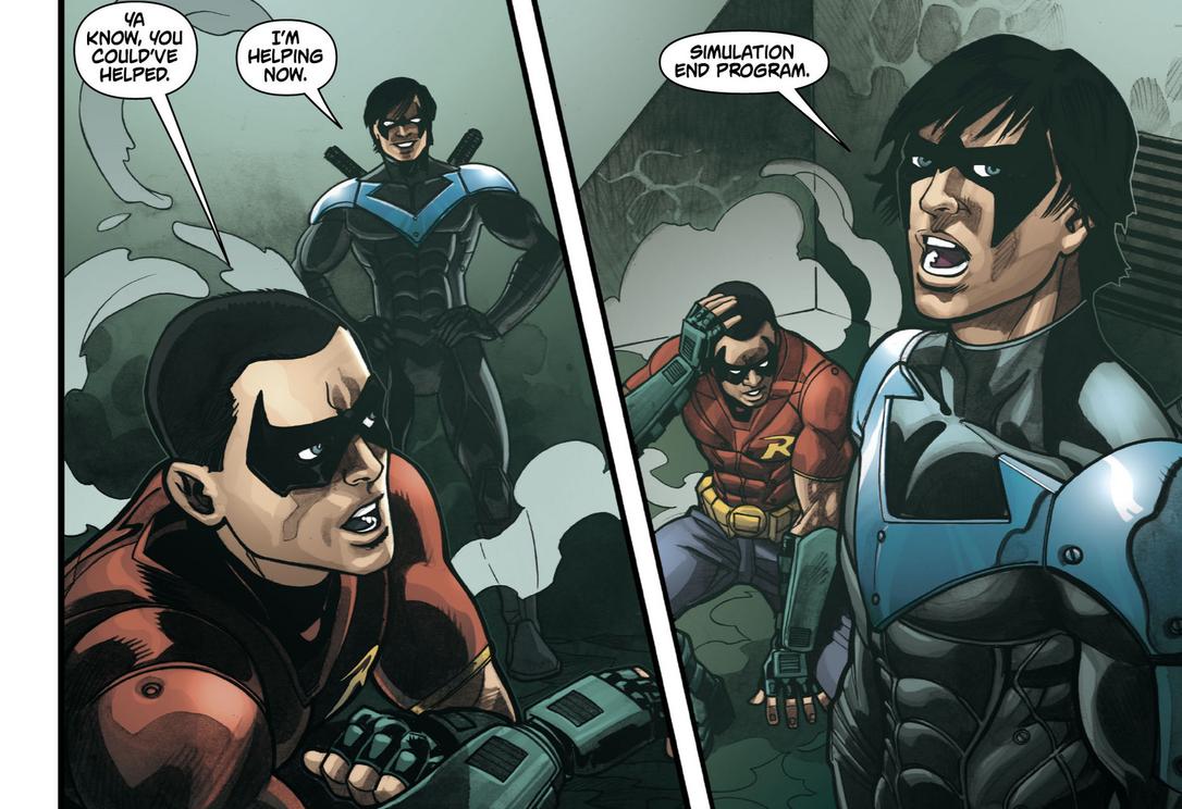 Image - Nightwing & Robin 1.png | Batman Wiki | Fandom ...