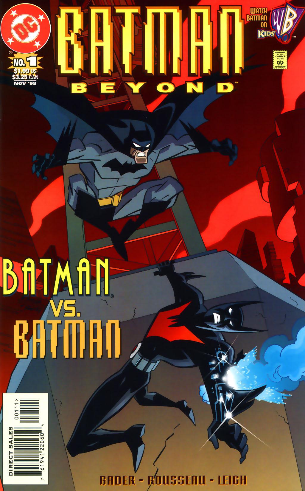 Batman Beyond Lego Sets Batman Beyond v2 01 Cover