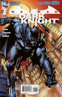 Batman The Dark Knight Vol 2-1 Cover-1