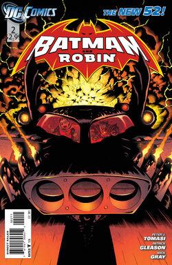 Batman and Robin Vol 2-2 Cover-1