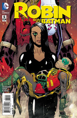 Robin Son of Batman Vol 1-5 Cover-1
