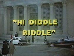Hi Diddle Riddle