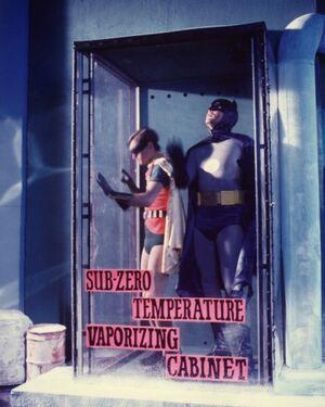 Sub-Zero Temperature Vaporizing Cabinet