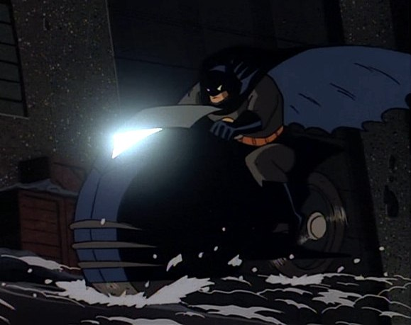 Batcycle Batman The Animated Series Wiki Fandom