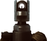 SCAR-H iron sights BF4