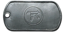BF4 Rifle Expert Dog Tag
