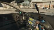Squad car passenger