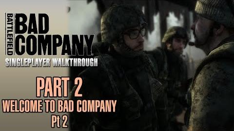 Battlefield Bad Company Walkthrough - Part 2 - Welcome To Bad Company - Pt
