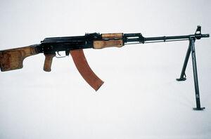 Machine Gun RPK