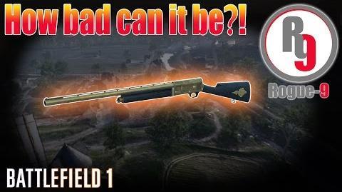 Worst Shotgun in Battlefield 1?