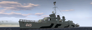 BF1942 USN FLETCHER CLASS DESTROYER