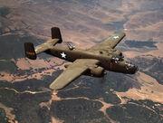 793px-North American Aviation's B-25 medium bomber, Inglewood, Calif