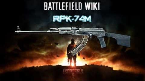 Battlefield 3 - RPK-74M Sound