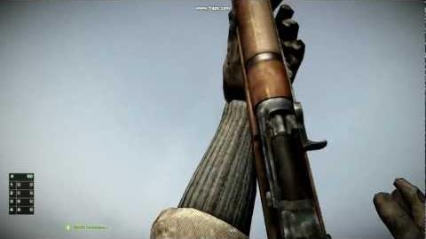 Battlefield Bad Company 2 - WWII M1 Garand Reload Animations
