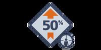 Elimination 50% Boost