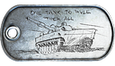 Tank Superiority Medal Dog Tag