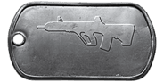 BF4 AUG A3 Master Dog Tag
