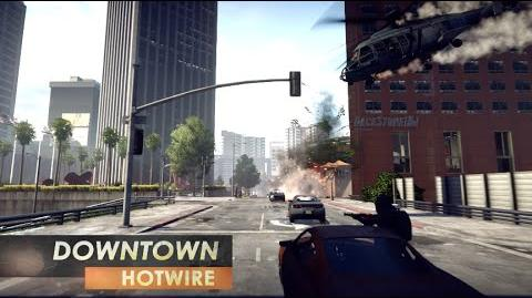 Battlefield Hardline Gameplay Hotwire on Downtown