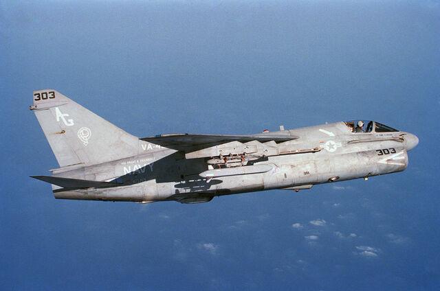 File:A-7E Corsair II.JPEG