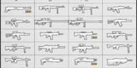 Collectible Weapons