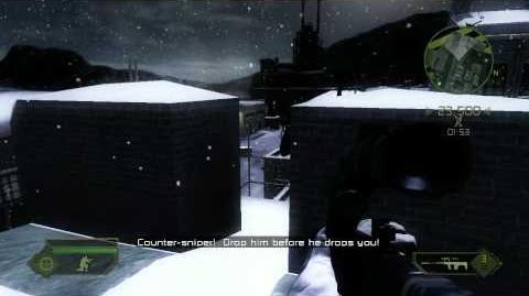 Battlefield 2 Modern Combat Walkthrough (Xbox 360) - Part 3 - Headshot