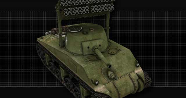 File:M4 Sherman with T34 Calliope BF1942 SWOWWII.jpg