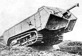 Saint Chamond Tank IRL