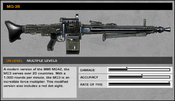 BFBC2 MG-3R Stats