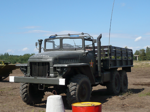 Ural 375D truck