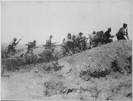 Bayonet Charge Gallipoli