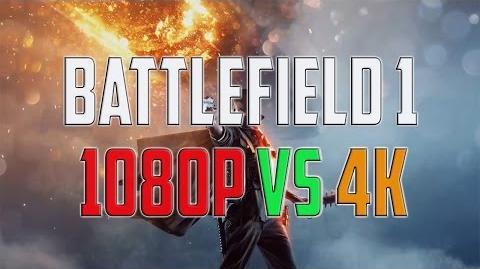 Battlefield 1 1080p vs 4K – GRAPHICS QUALITY COMPARISON TEST - PC GAMEPLAY WINDOWS 10
