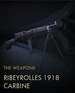 Ribeyrolles 1918 Carbine Codex Entry