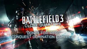 BF3 CQ Donya Fortress Gameplay Trailer Thumbnail