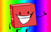 Blocky big smile