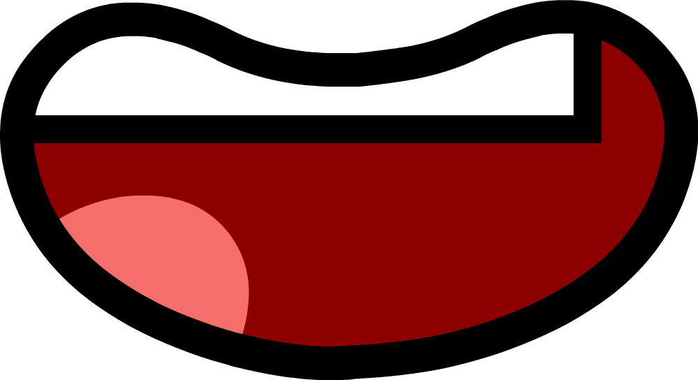 Bfdi Mouth Wide Frown - 0425