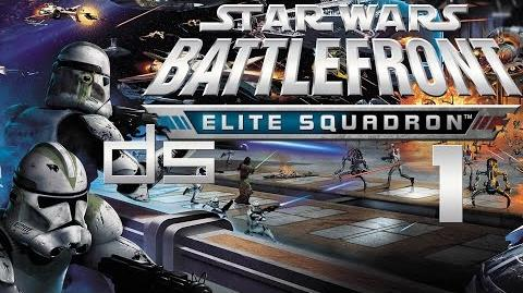Star Wars Battlefront Elite Squadron 1 - Tatooine DS Walkthrough